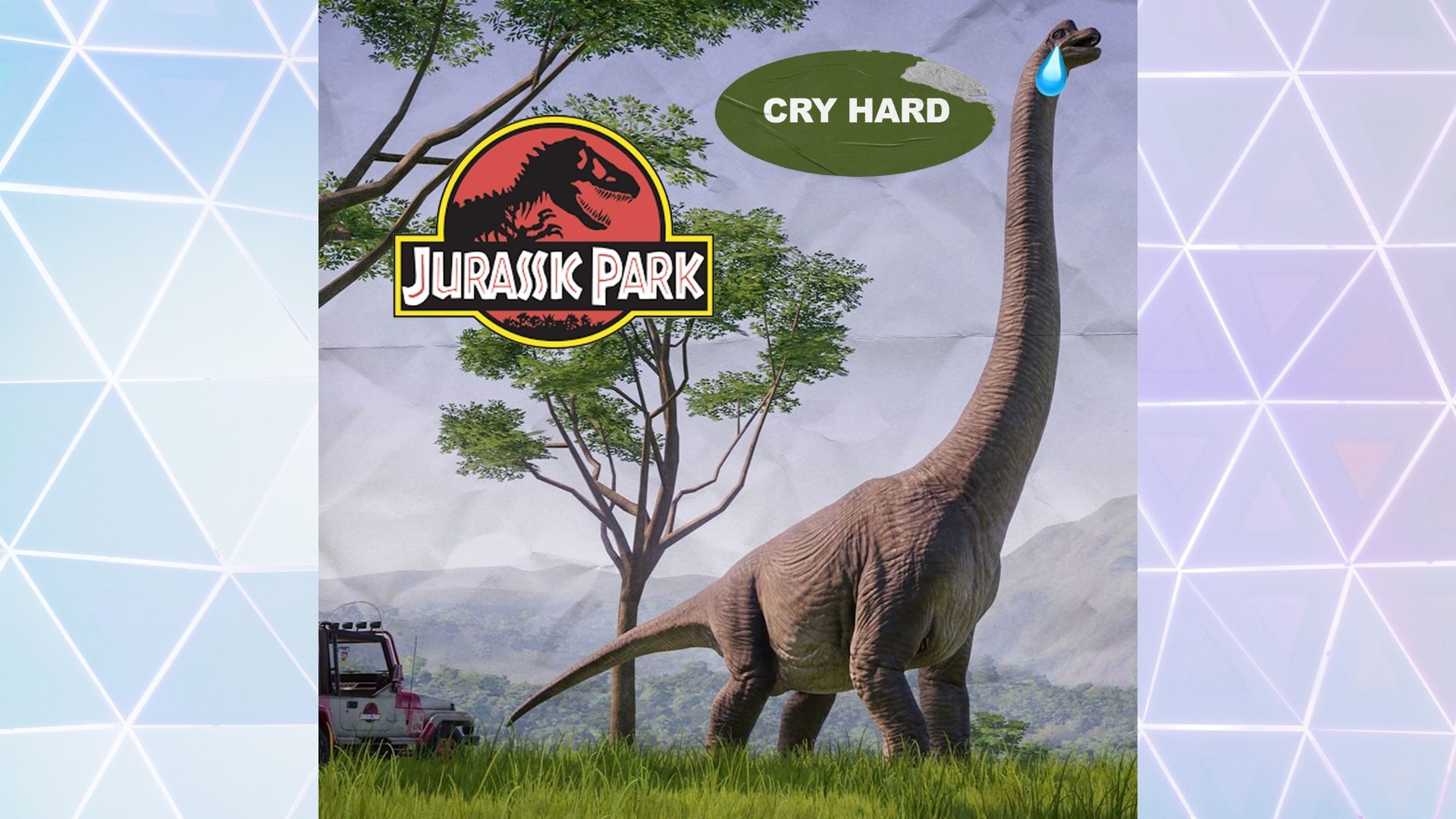 Cry Hard (with a Vengeance): Jurassic Dad