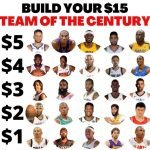 $15 NBA Build Your Own Team