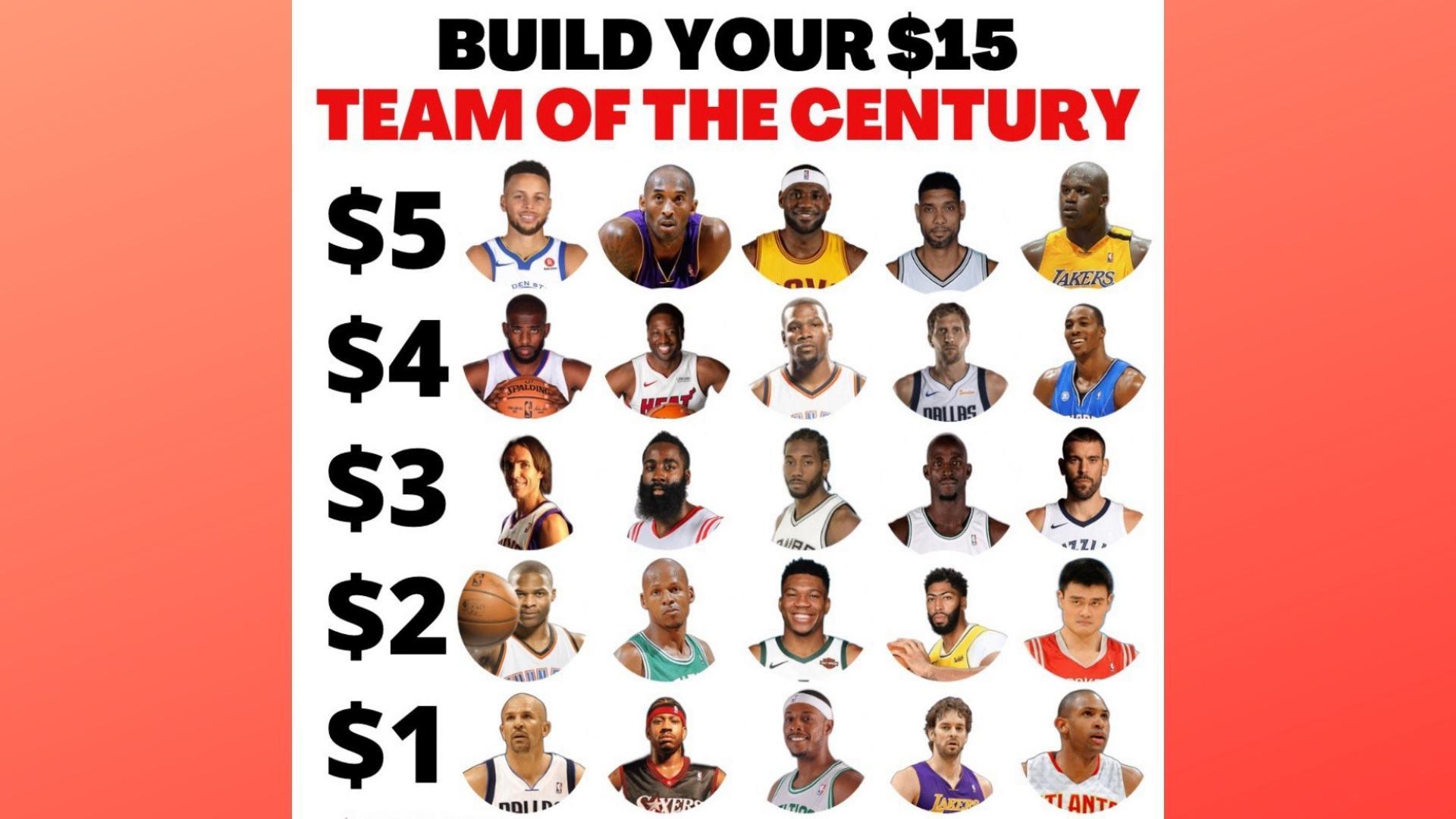$15 NBA Draft, Pt. 1