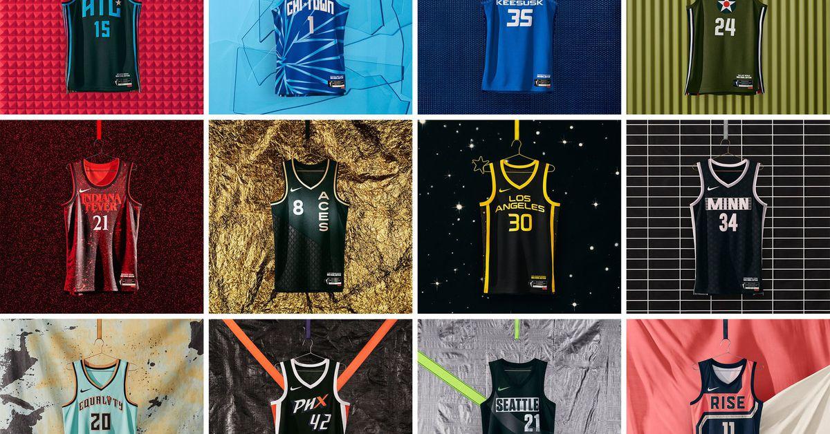 New WNBA Jerseys Mix Flash and Substance