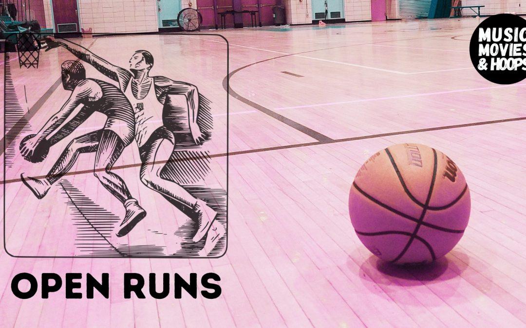 Open Runs - basketball
