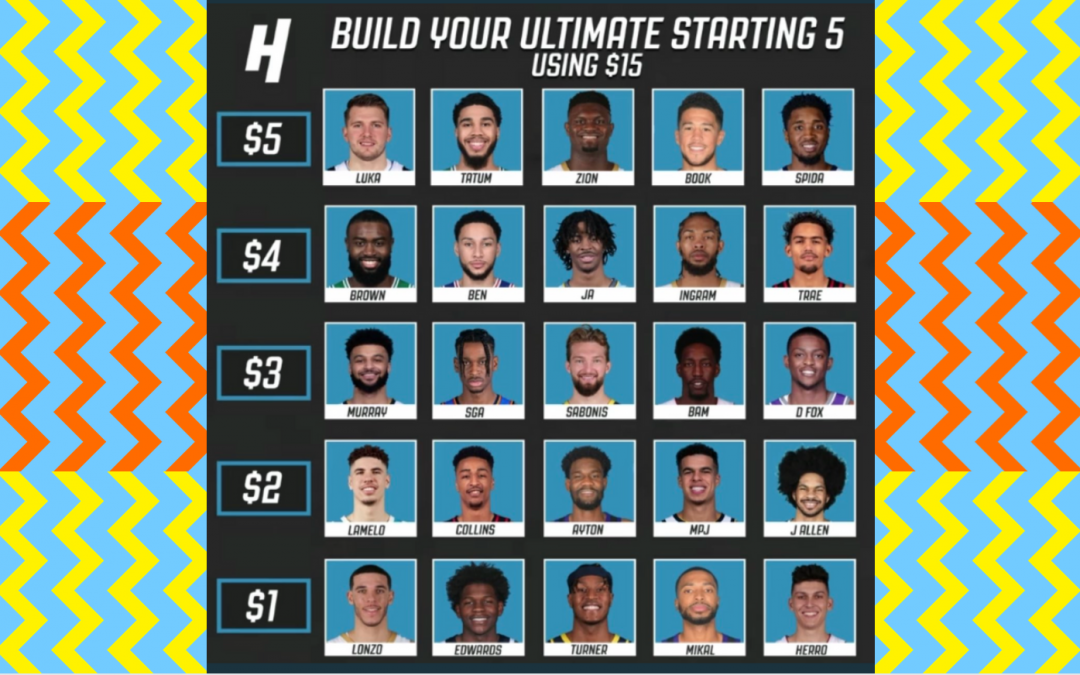 $15 NBA Draft - Build Your Ultimate Starting 5
