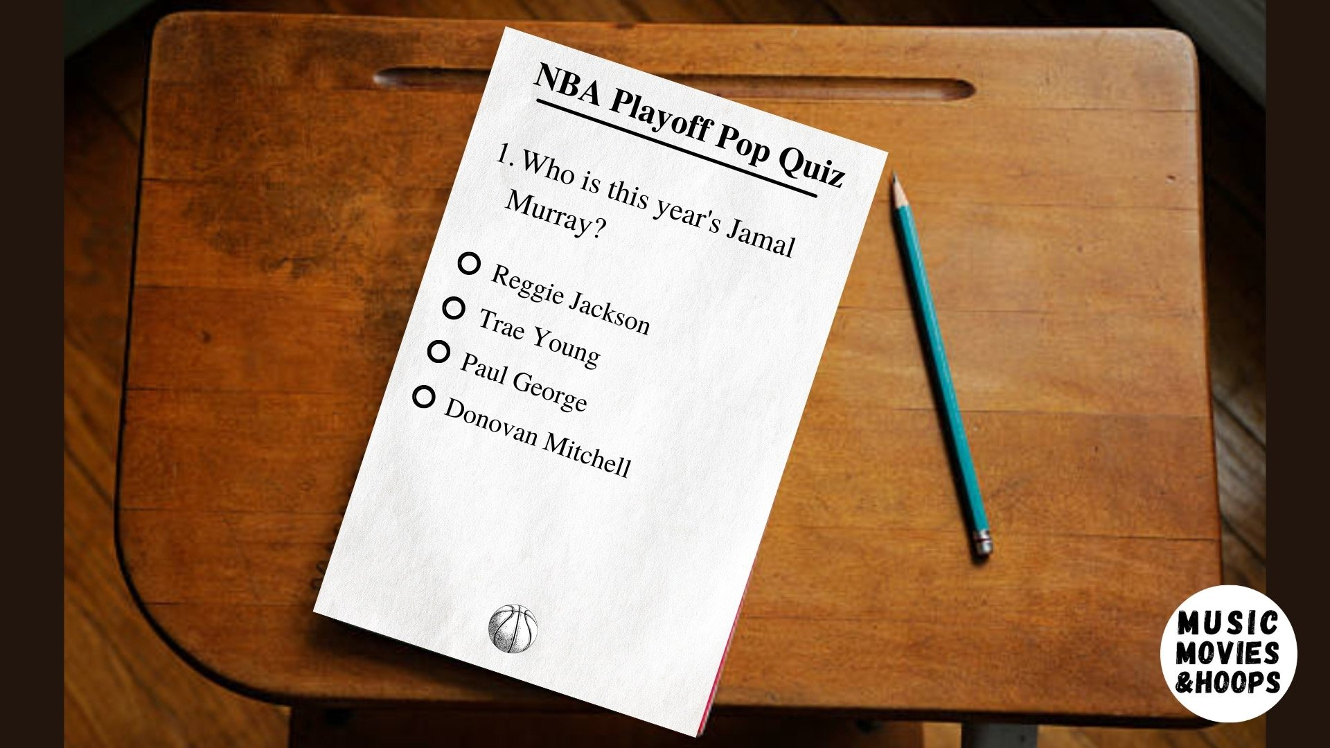 NBA Playoff Pop Quiz!