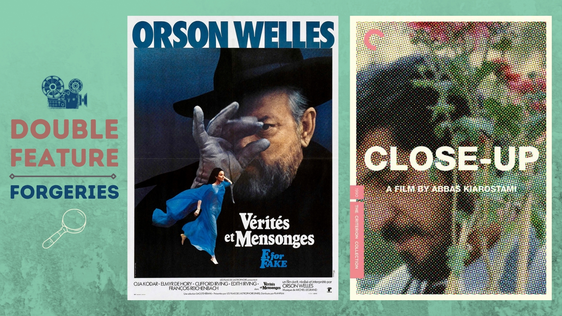 Double Feature Review   Fake Views: Art Forgeries and Honest Cinema