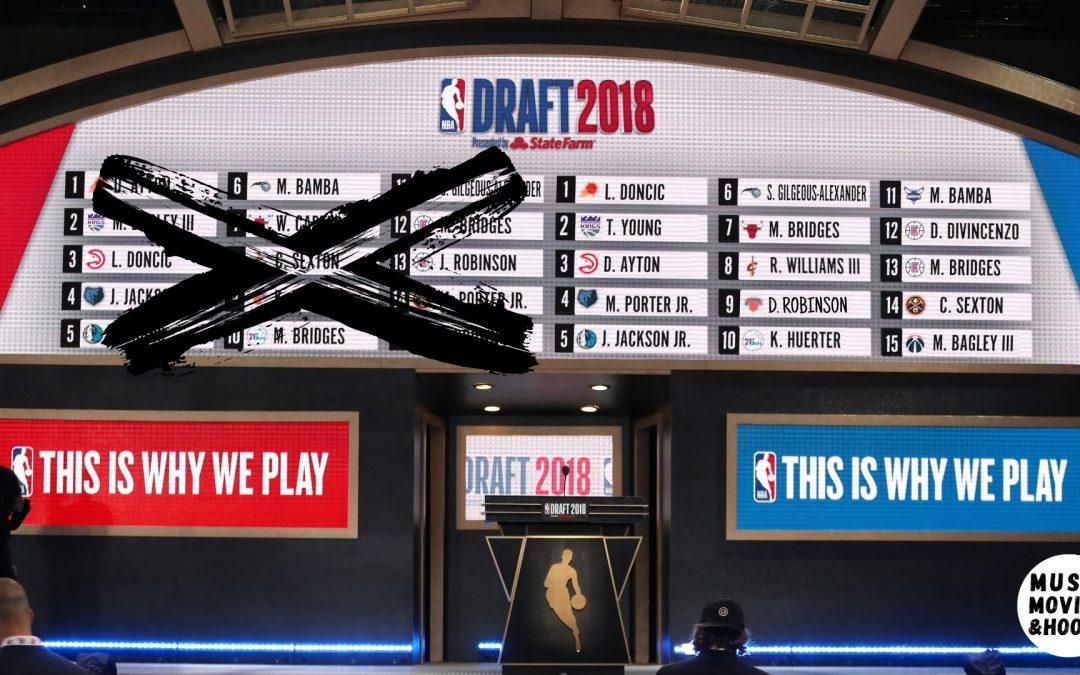 2018 NBA Draft Board