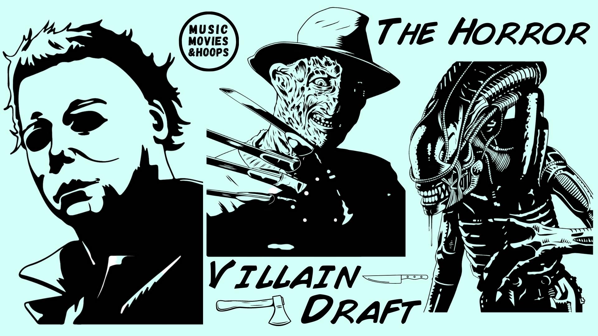 MMH Fantasy Drafts | Horror Villains Battle Royale