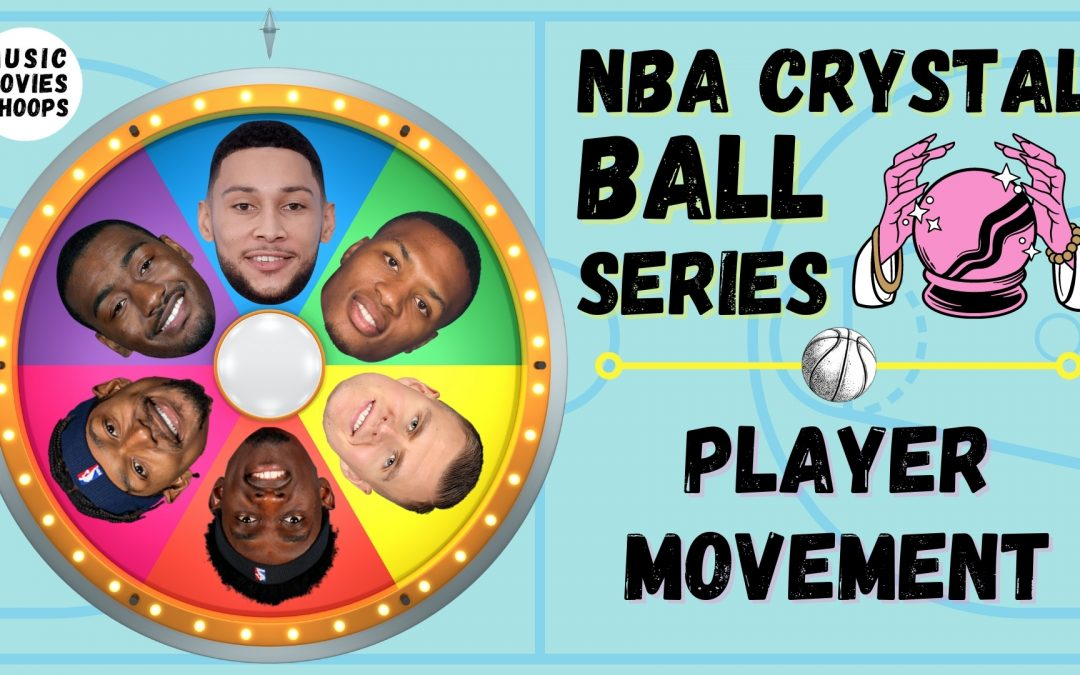 NBA Crystal Ball Series   Players Most Likely To Be Moving in 2021-2022
