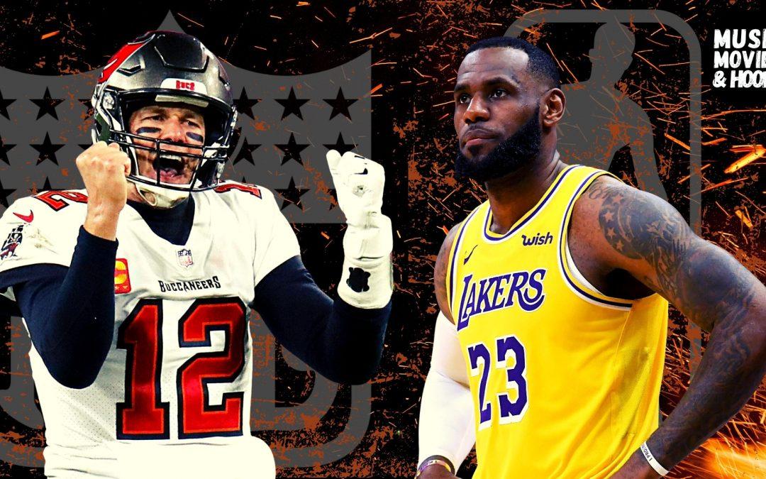 LeBron James, NBA, Tom Brady, NFL