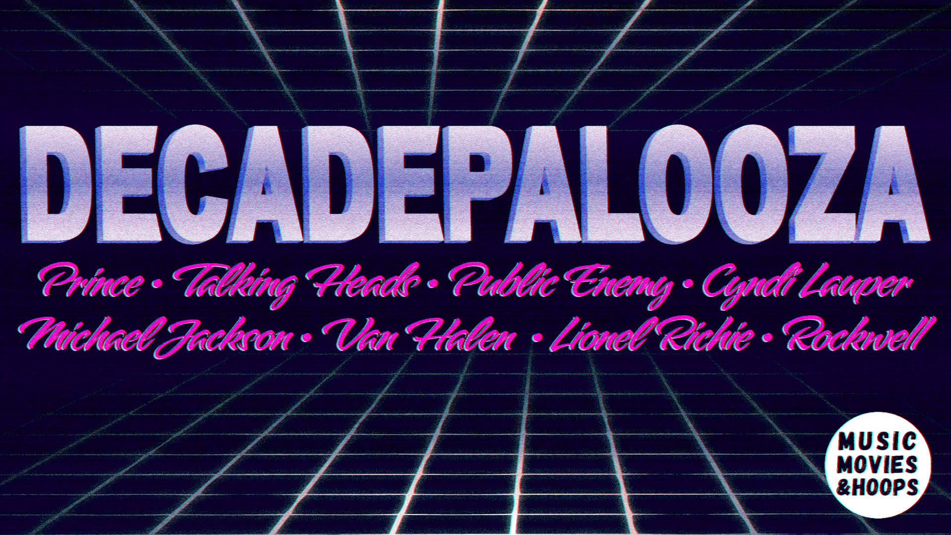 Decadepalooza III: The 1980s