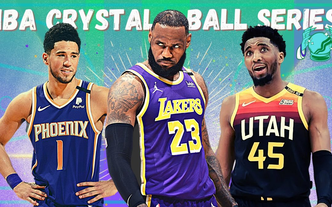 NBA, Western conference, Lakers, Suns, Jazz